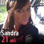 Sandra, 21 ans